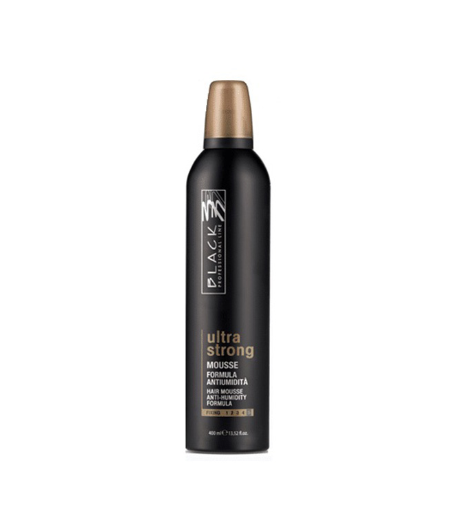 Black Mousse Ultra Strong 400 ml