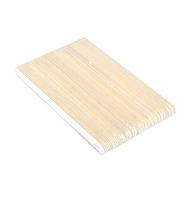 Wooden Nail File, 50pcs/pack