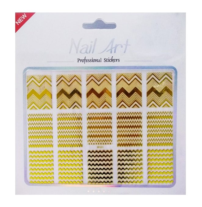 NGS4 Nail Sticker Gold