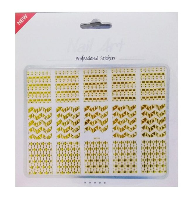 NGS5 Nail Sticker Gold