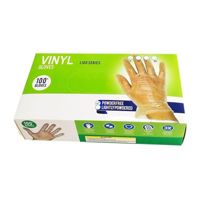 Bora Vinyl Gloves NP Small, 100pcs/pack