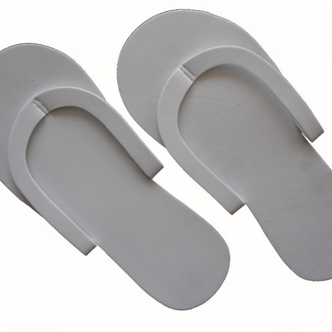 White Disposable Slipper