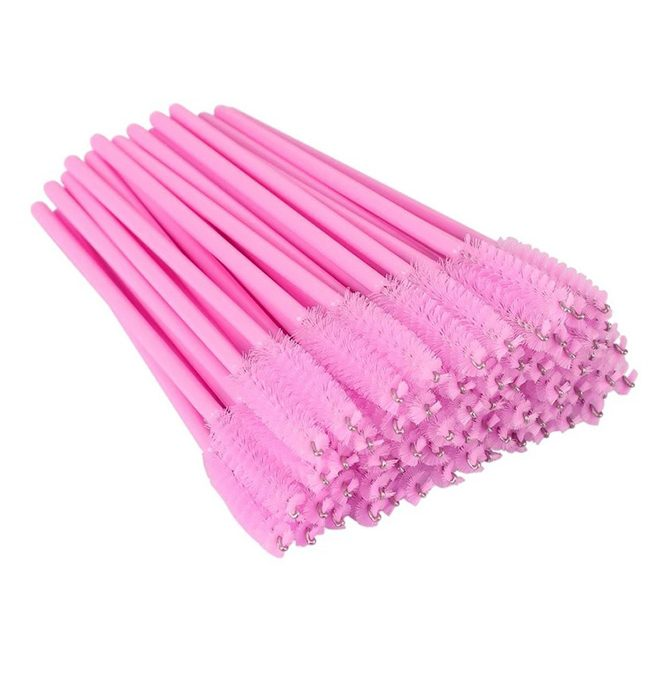 disposable mascara brush pink