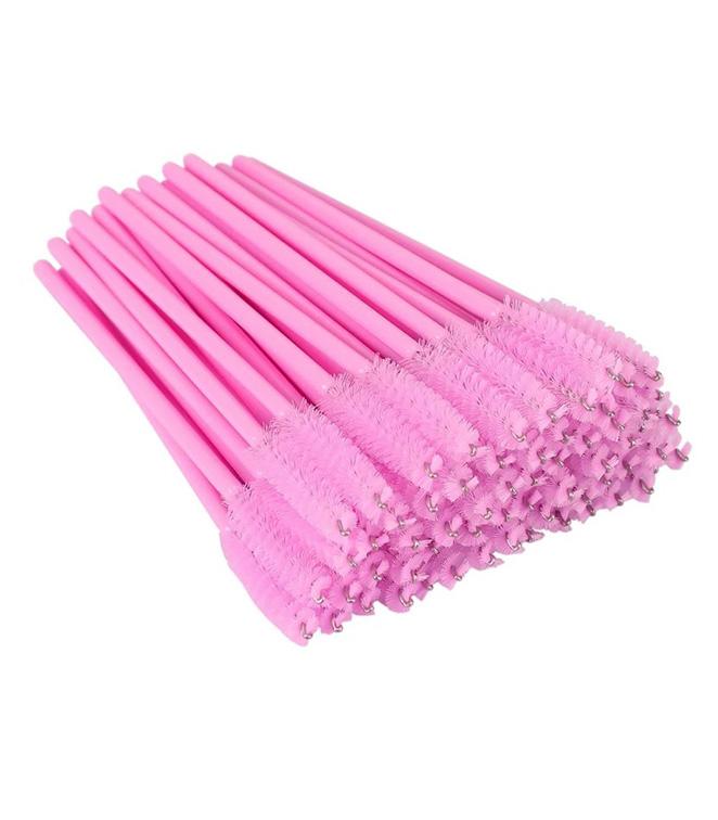 disposable mascara brush pink
