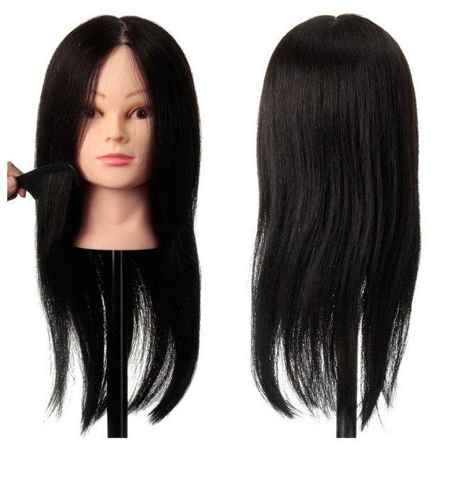 human hair training black