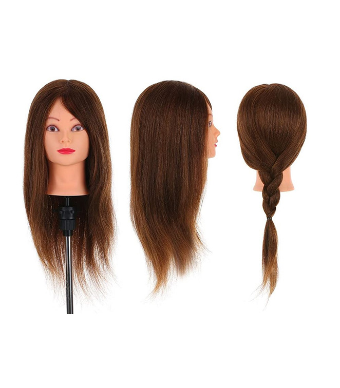 human hair training brown