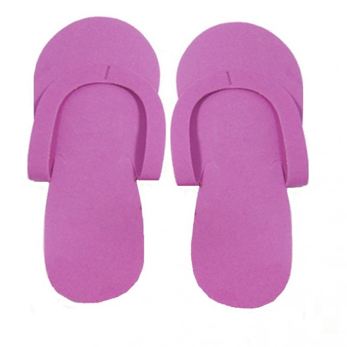 Slipper purple 1