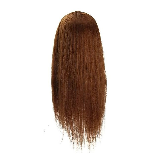 Human Hair Training brown
