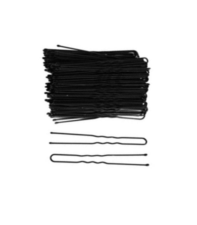 Wavy Open Black Hair Pin